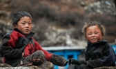 Children of Khumbu Region - They are the childrens from khumbu region i.e on the way.