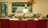 Caters - we catered for a 21st bday party,and proud to say we served a buffet style Hoppers for 140 guests.