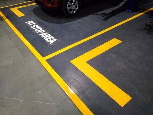 Thermoplastic Line Marking - Roads