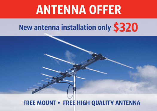 Antenna Installation Sunshine Melbourne