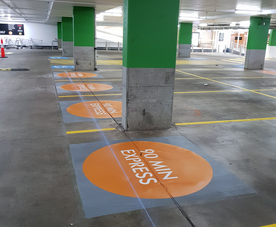 Line Marking Stencils | City Linemarking