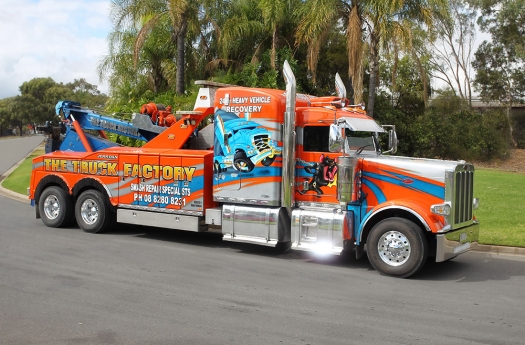 Truck Factory for Heavy Vehicle Recovery or Heavy
