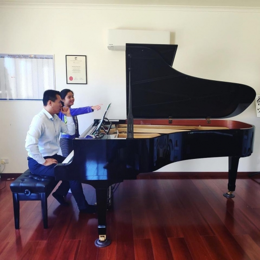Reach Ting Yun for the Best Piano Music Teacher in