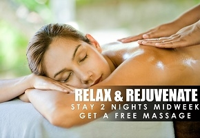Stay 2 Nights and Get a Free Massage for Two