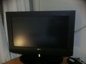 LG LCD with set top box if required