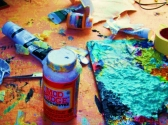 Artist Oil paint and supplies