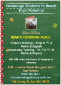DEAN'S TUTORING PLACE