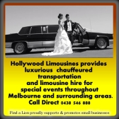 Limousines services melbourne