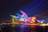 Vivid Sydney lights dinner cruise