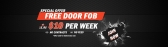 FIT247 Gym - Special Offer - Free DOOR FOB at Bent