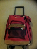 Travel Bag with lots of space & wheels