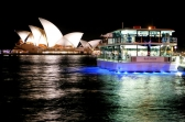 Clearview Glassboat dinner cruise in Sydney