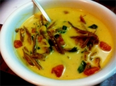 Dry Fish curry with coconut cream- recipe