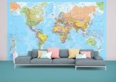 Cheap World Map Wallpaper