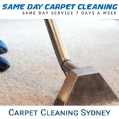 Same Day Carpet Cleaning Sydney