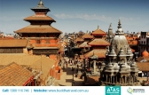 Fly from Melbourne to Kathmandu