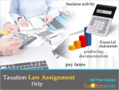 Taxation Law Assignment Help By Casestudyhelp.com