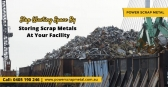 Monetise on Used Scrap Metal - Contact Scrap Deale