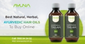 Get Long and Luscious Hair with Ayurvedic Hair Oil