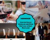 Hunter Valley Wedding and Wine Festival in NSW