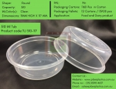 Serve it Up in Food Grade Plastic Dips Container