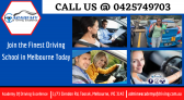 Join the Finest Driving School in Melbourne