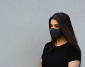Black Fabric Face Mask for Sale in Australia