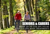 Seniors and Carers Discount for a Mt Tamborine