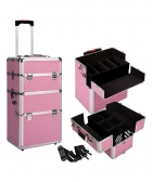 Portable Beauty Carry Case Pink – Flipdeals