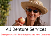 All Denture Services - New Dentures/Denture Repair