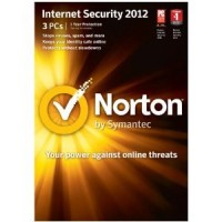 NORTON INTERNET SECURITY LICENSE 2012-1 USER 3 PC. 1 Year (downloadable)